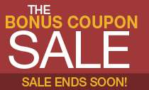 Bonus Coupon Sale