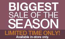 Biggest Sale of the Season