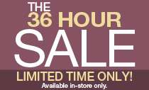 36 Hour Sale!