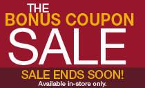 Bonus Coupon Sale