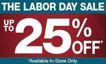 Pre-Labor Day Sale