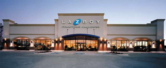 La Z Boy Furniture Store 640 x 263