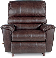 Vince Leather Rocking Recliner