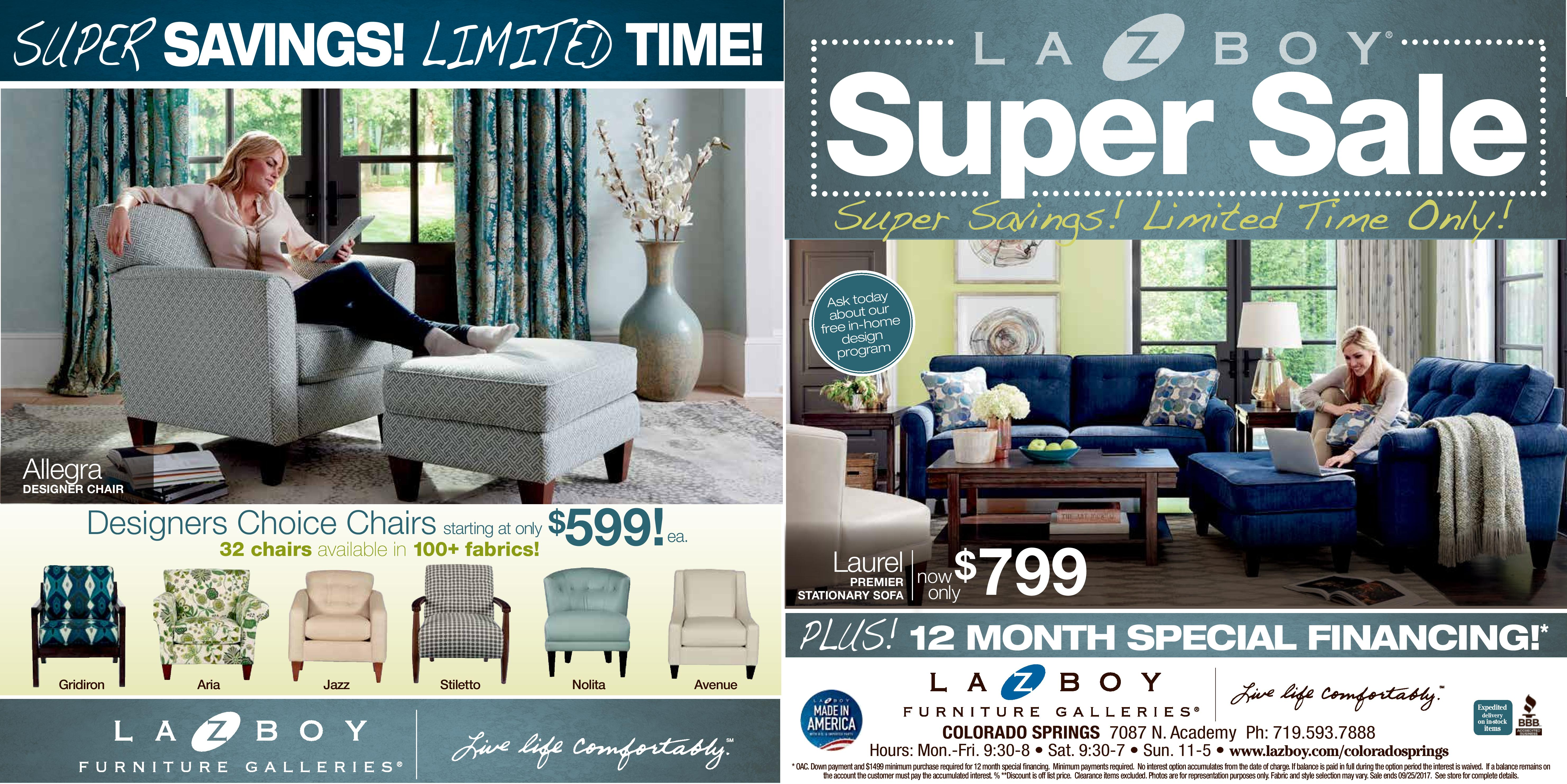 Living Room Sets Colorado Springs furniture - la-z-boy sofas, chairs, recliners and couches - find a