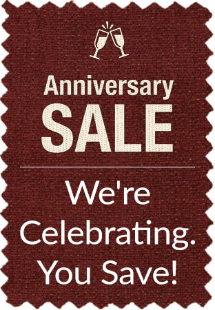 Anniversary Sale - We're Celebrating You Save!