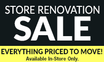 Store Renovation Sale