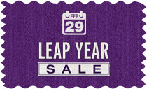 Leap Year Sale - Extra Day! Extra Savings!