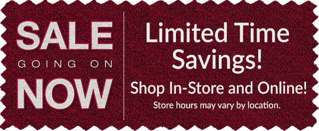 Power Up Your Comfort Sale! Going On Now - Limited Time Savings!
