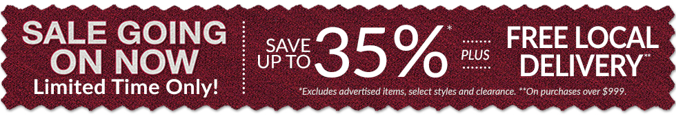 Sale Going On Now! Save Up To 35%