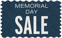 Memorial Day Sale - Extended!