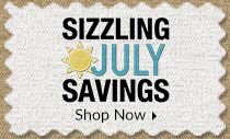 Sizzling Savings in July