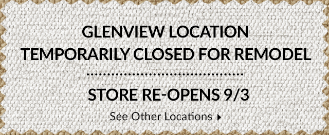 Store Closed for Remodel - Re-Opens 9/3