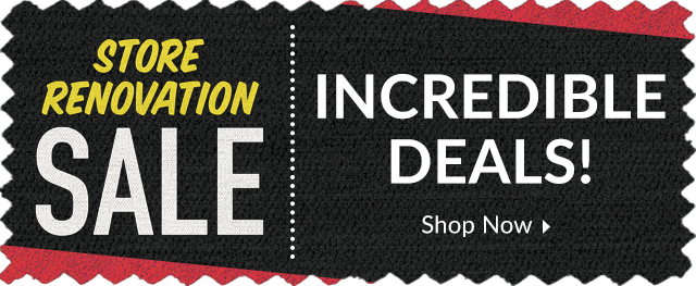 Store Closing for Renovation Sale
