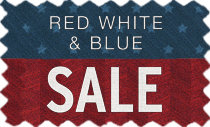 Red White & Blue Sale - Great Savings! Limited Time!