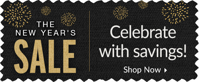 The New Year's Sale - New Year! New Look!