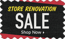 Store closing for renovation
