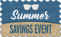 Summer Savings Event - up to 30% off
