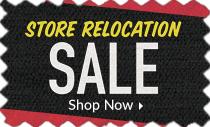 Store Relocation Sale