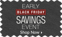 Early Black Friday Savings Event - 30% off everything